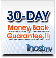 30-Day Money Back Guarantee !!