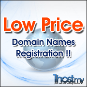 Low Price Domain Names Registration!