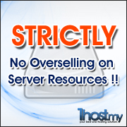 No Overselling on Server Resources!